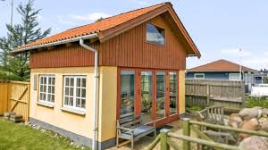 tiny beachfront cottage in denmark beautiful small house design