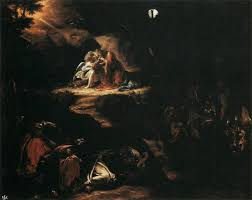 disciples sleeping u2013 barnstorming