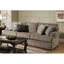 simmons upholstery ashendon sofa simmons kingsley pewter sofa wayfair
