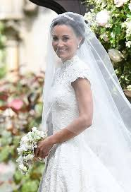 Marriage Dress For Bride Pippa Middleton Wedding In Full The 40k Dress Celebrity Guests
