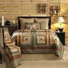 log cabin comforter sets s s s log cabin style bedding sets