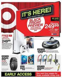 xbox one target black friday ad target black friday 2016 ad scan
