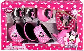 mickey mouse kitchen appliances amazon com disney store minnie mouse kitchen play set pots n pans