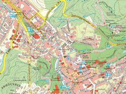 Apotheke Baden Baden Stadtplan Von Baden Baden Detaillierte Gedruckte Karten Von