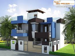 Modern Elevation 24 Decorative Modern Duplex Houses House Plans 60403