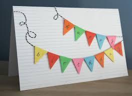 bunting happy birthday card blog homeandawaywithlisa