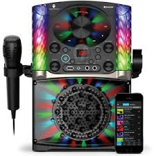 singing machine with disco lights singing machine karaoke system disco bluetooth led lights 2