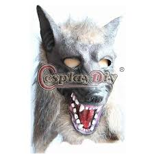 Wolf Halloween Costume Kids Prop Nut Picture Detailed Picture Face Wolf Mask