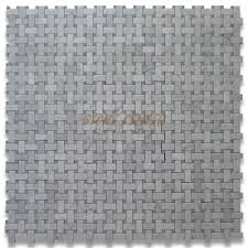 interior basketweave marble tile basketweave backsplash
