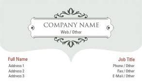 business card templates green