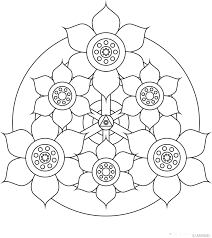 Best Color For Kids Free Printable Mandalas For Kids Best Coloring Pages For Kids