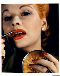 lucille ball u0027s retro beauty look is no laughing matter photos