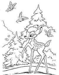 printable bambi coloring pages coloringstar