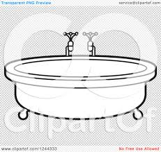 Living Room Clipart Black And White Round Bath Tubs Bedroom And Living Room Image Collections
