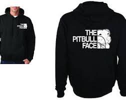 pitbull sweatshirt etsy