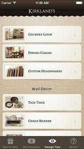 Kirkland Home Decor Coupons Kirkland U0027s Spin To Win On The App Store