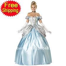 Belle Halloween Costume Blue Dress Aliexpress Image