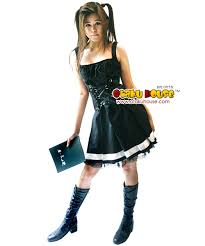 Death Note Halloween Costume Cosplay Dime 13 Cosplays Halloween Misa Amane Death Note