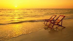 Sailboat Wallpaper Beaches Romance Clouds Chairs Sunset Shore Summer Peaceful Rest