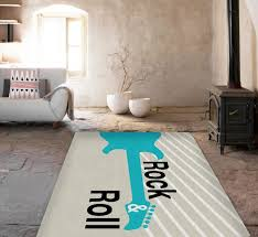 Modern Accent Rugs Rock And Roll Rug Modern Area Rug Guitar Rugs Affordable
