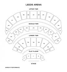 leeds arena floor plan arena london show tickets and information