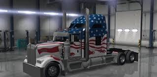 kenworth trucks usa kenworth w900 usa skin american truck simulator mod ats mod