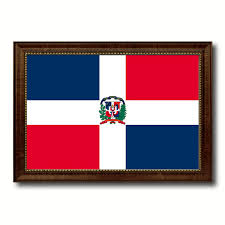 Dominican Republic Flag Dominican Republic Country Flag Home Decor Office Wall Art