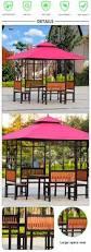 Metal Pergola Frame by Leisure Garden Metal Gazebo Aluminum Frame Gazebo Aluminum