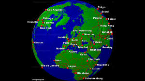 World Map Lagos by Primap World Maps