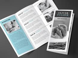 2 fold brochure template tri fold brochure template blue serenity rumble design store