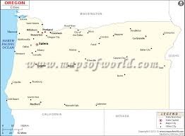 oregon map with cities cities in oregon oregon city map