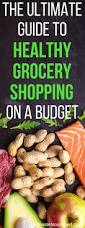 grocery guide the ultimate guide on how to shop for healthy groceries on a budget
