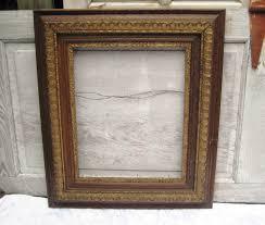 antique wood frame decorative frame ornate frame dark