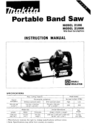 makita cordless saw 2106 user guide manualsonline com