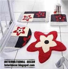 Contemporary Bathroom Rugs Popular Contemporary Top Brilliant Contemporary Bathroom Rugs Sets