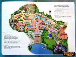 Orlando Florida Map 2011 Walt Disney World Vacation Brochure Let The Memories Begin