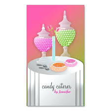 cool candy buffet business cards unique best sweet treats images