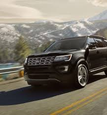 Ford Explorer Trunk Space - 2017 ford explorer suv features ford com