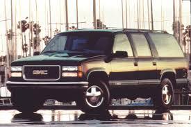 1995 Suburban Interior 1992 99 Gmc Suburban Consumer Guide Auto