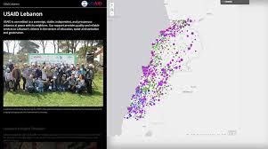 Esri Story Maps Story Map Usaid Work In Lebanon Lebanon U S Agency For