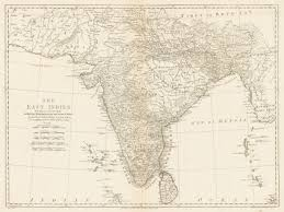 British India Map by The East Indies Including More Particularly The British Dominions