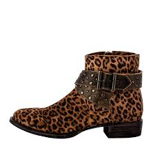 womens boots bc boots s beltline cheetah print leather booties free