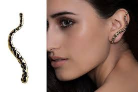 ear climber earring trend to try ear climbers trends to try livingly