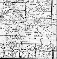 County Map Of Colorado by Colorado Maps Us Digital Map Library Eastern Colorado 1905 Page