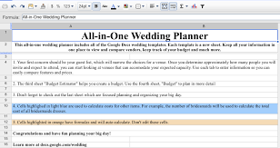 wedding planner prices free wedding organization tool from docs simply beginning