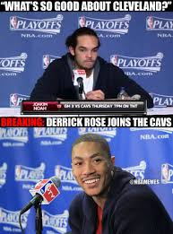 D Rose Memes - nba memes on twitter derrick rose signs with the cavs full