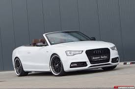 official glacier white metallic audi s5 cabriolet by senner