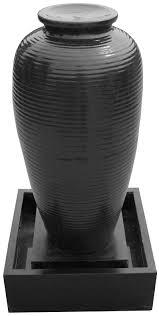 Folding Gazebo Bunnings by Water Magic 55 X 115cm Black Amphora Rib Water Feature With Pump