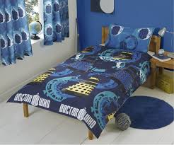 dr who bedroom doctor who single bed duvet curtains merchandise guide the