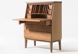 Large Secretary Desk by Secretary Cabinet Women U0027s Desk Emily By Sixay Furniture